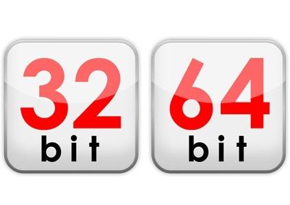unterschied 32 zu 64 bit